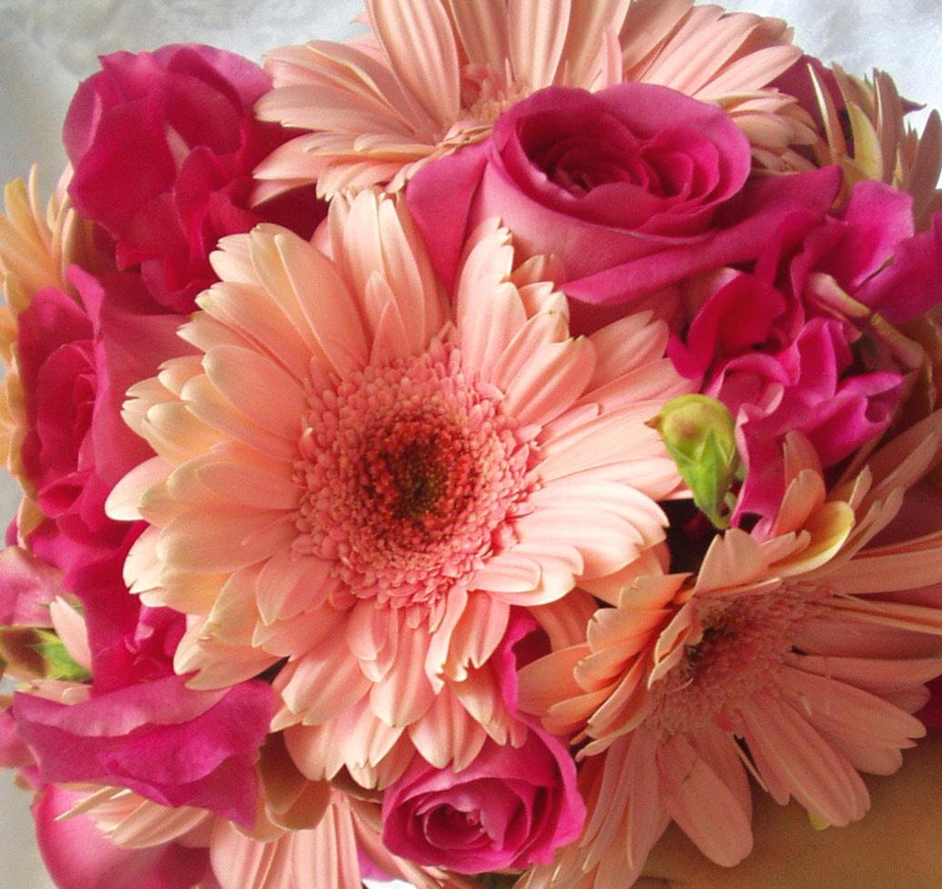 Gerbera Flower Wedding Bouquets: Michael's Heart : April 2011