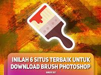 6 Situs Terbaik Untuk Download Brush Photoshop (100% Free)