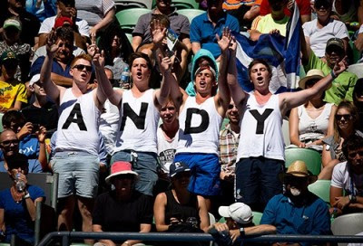 Andy Murray Crowd