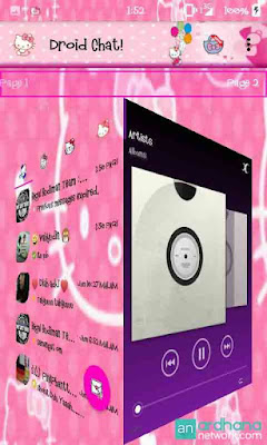 Preview Droid Chat Hello Kitty