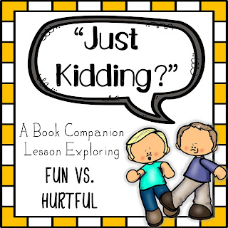 just kidding book companion lesson