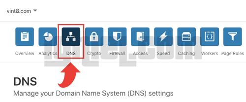 Cara Setting DNS di Cloudflare