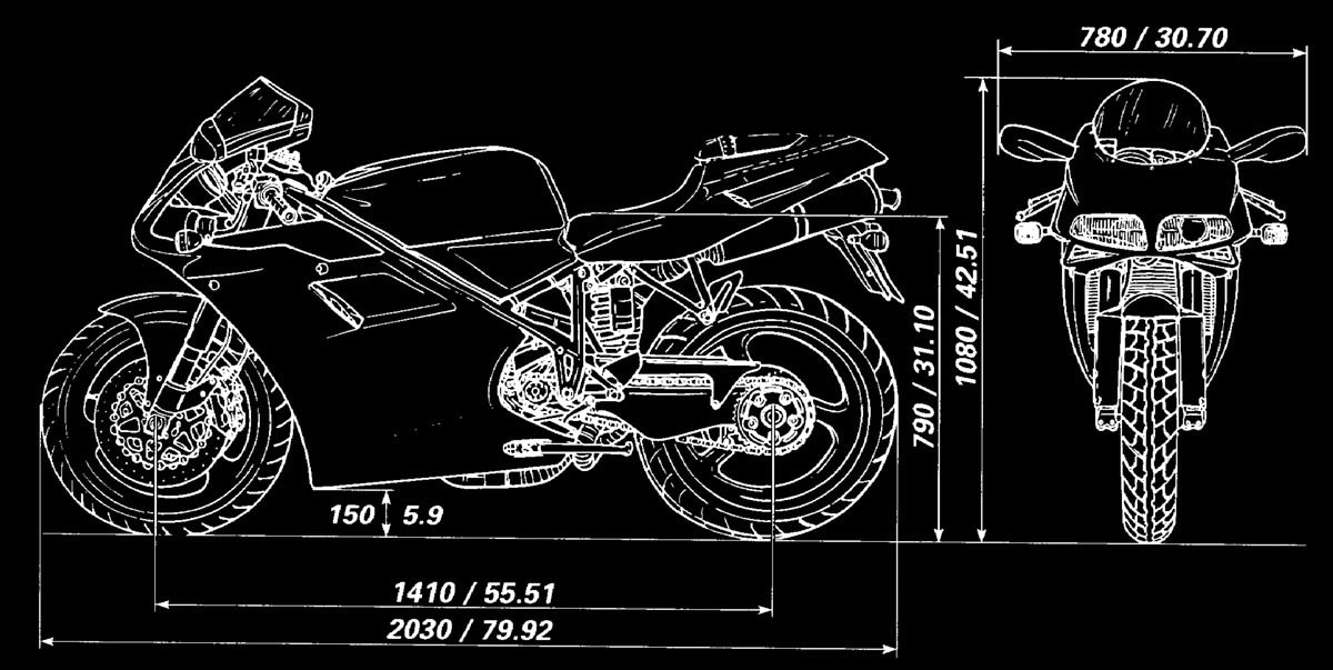 Bike It OEM Brake /& Clutch Lever Set Alloy Ducati 748 SPS 1998