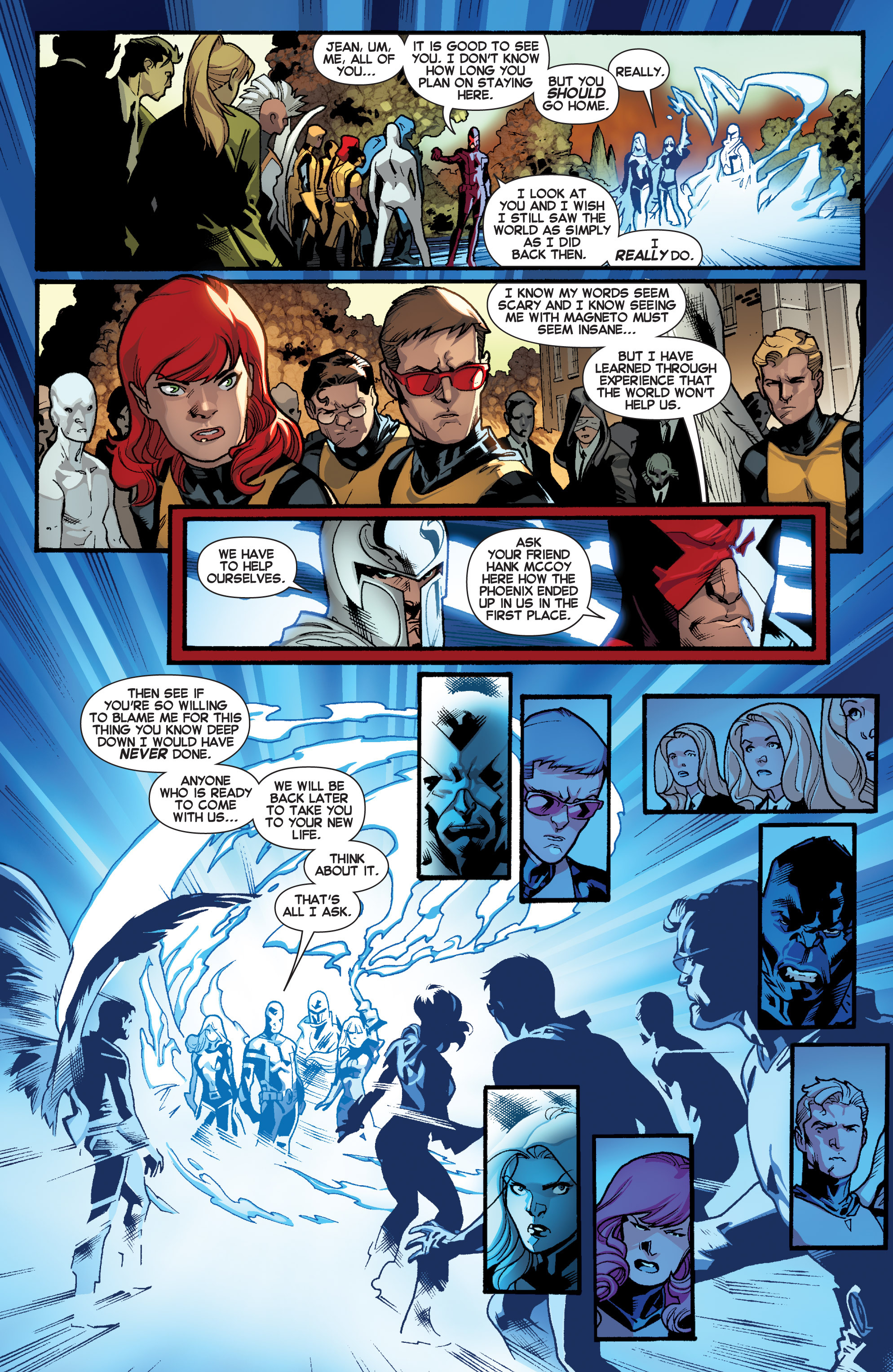 Read online All-New X-Men (2013) comic -  Issue # _Special - Here To Stay - 98