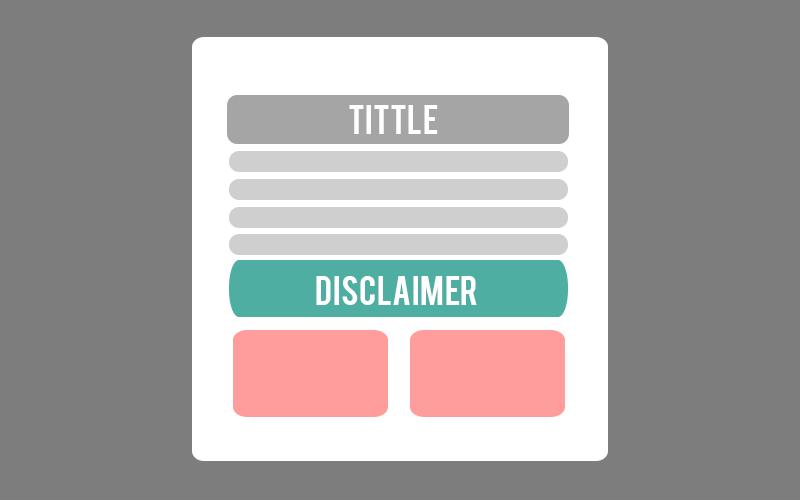Cara Membuat Disclaimer Box Otomatis di Postingan Blog