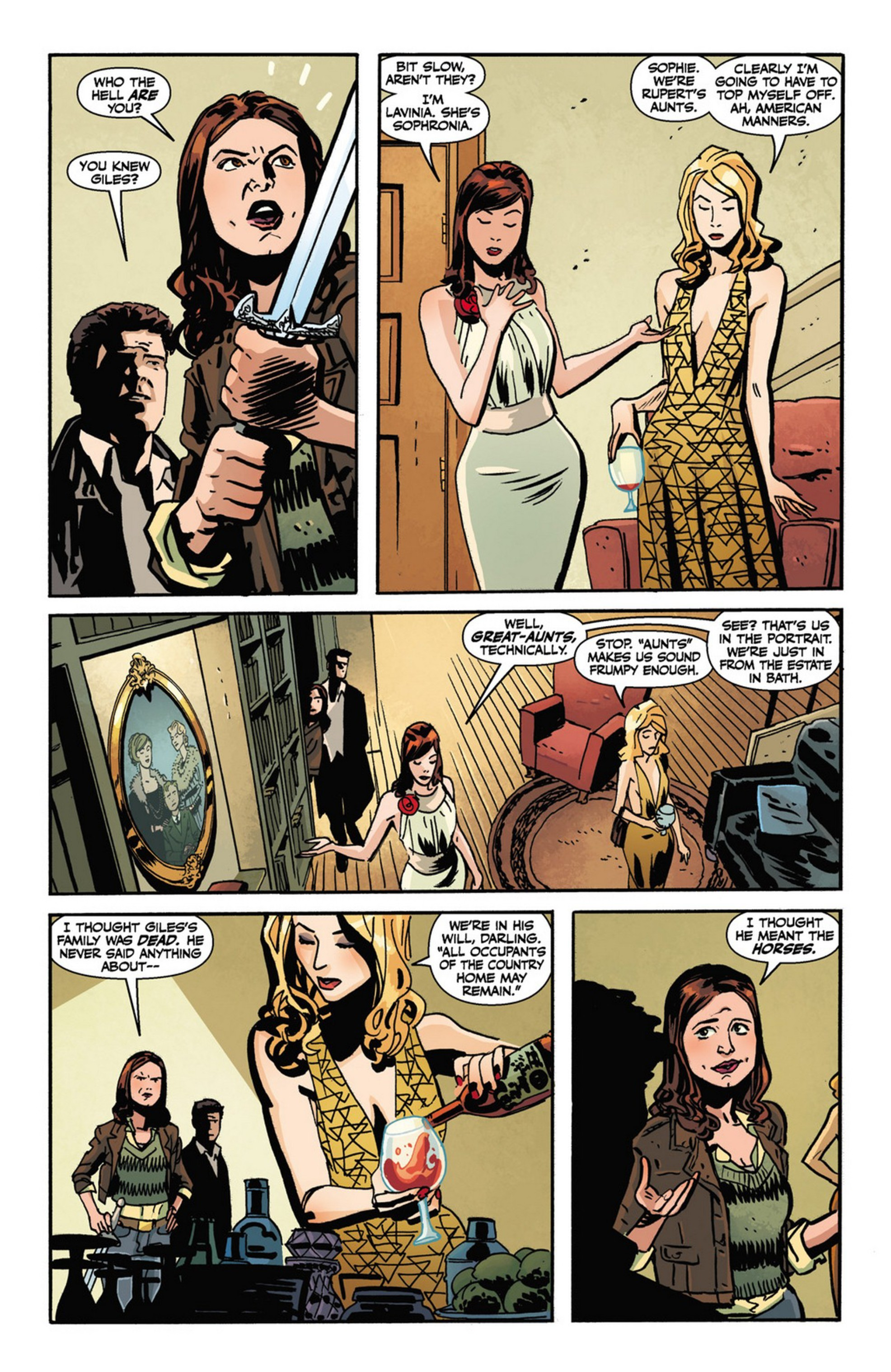 Read online Angel and Faith comic -  Issue #10 - 6