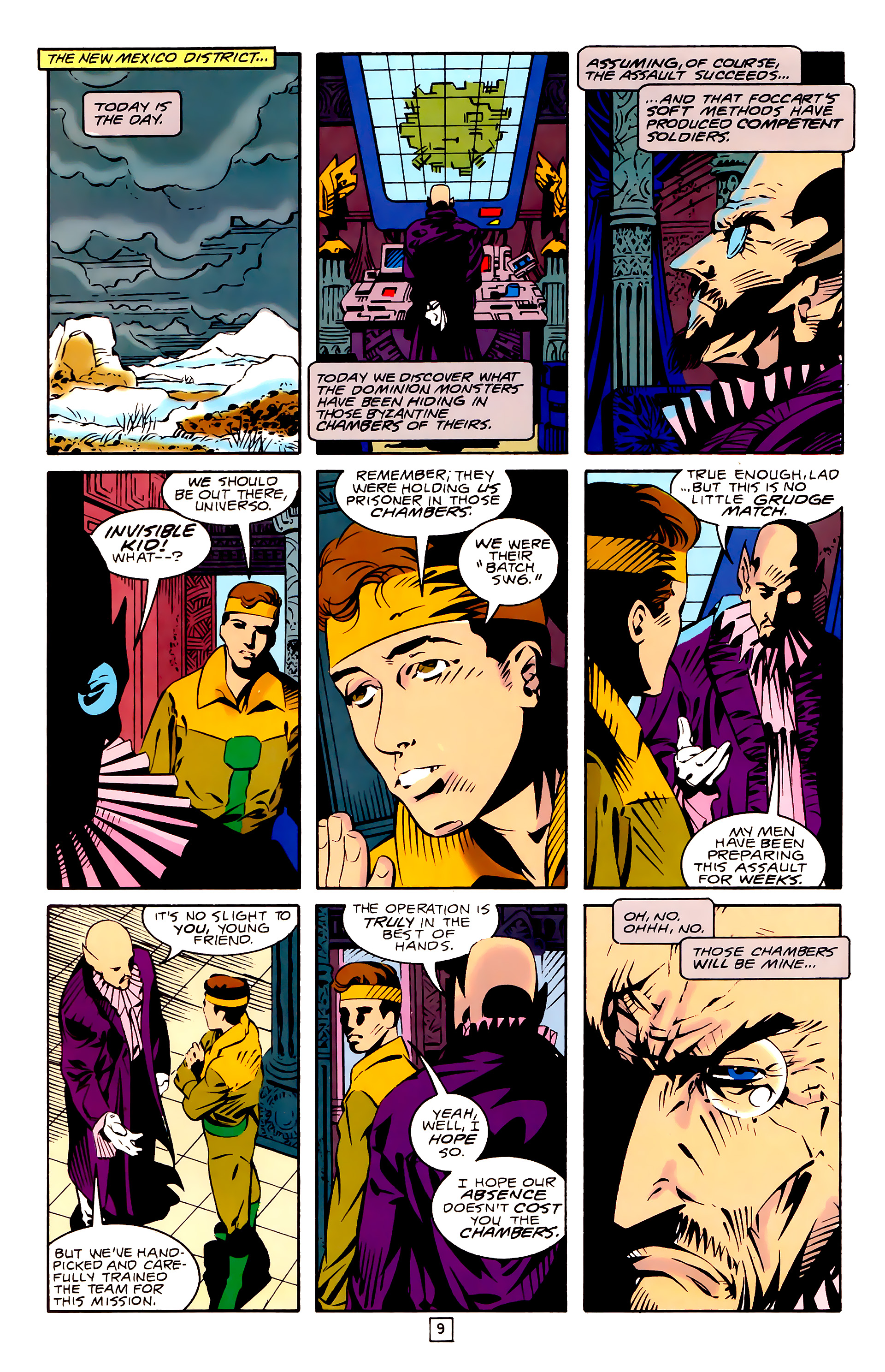Legion of Super-Heroes (1989) 26 Page 9