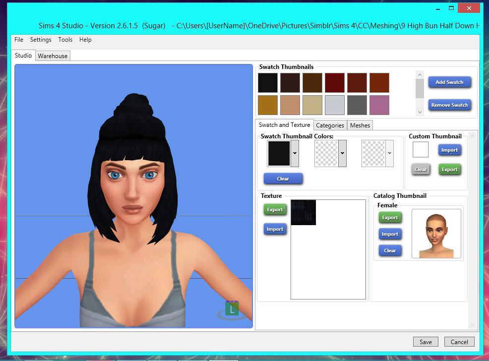 Sims 4 Studio| Change models appearance - YouTube