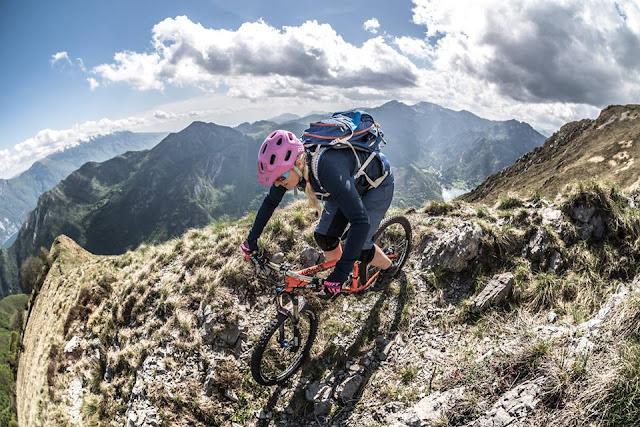 trail abfahrten gardasee mountainbike mtb cima D'oro lago di ledro petra zeller