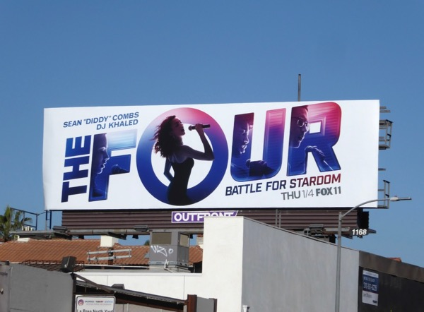 Four Battle for Stardom series premiere billboard