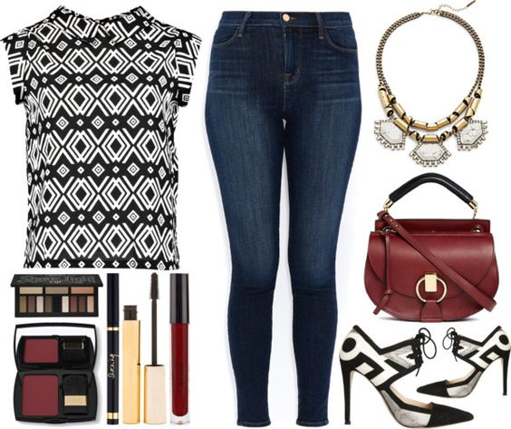 Rock A Geometric Print This Winter - A Recurring Theme OOTD www.toyastales.blogspot.com #ToyasTales