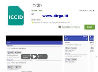 aplikasi nomor iccid android