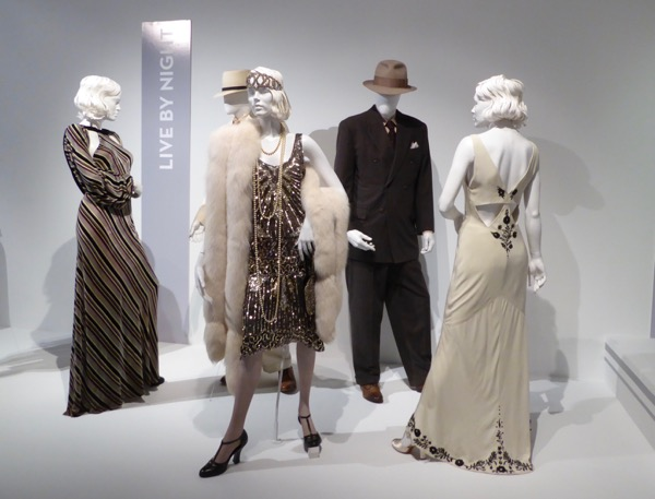 Live by Night film costume exhibit