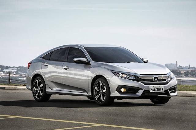 Novo Honda Civic 2017 - consumo - 2.0 Automático