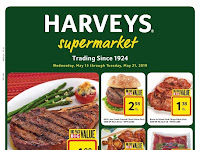 Harveys Weekly Deals May 15 - May 21, 2019