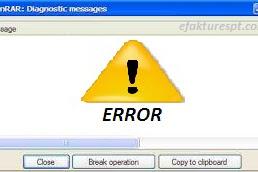 "Solusi Error Saat Ekstrak File eSPT ""Error winrar diagnostic message"""