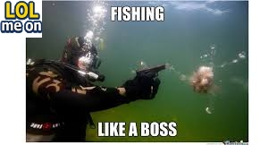 Fishing Like A Boss - Funny Picture With Caption Funnny pictures