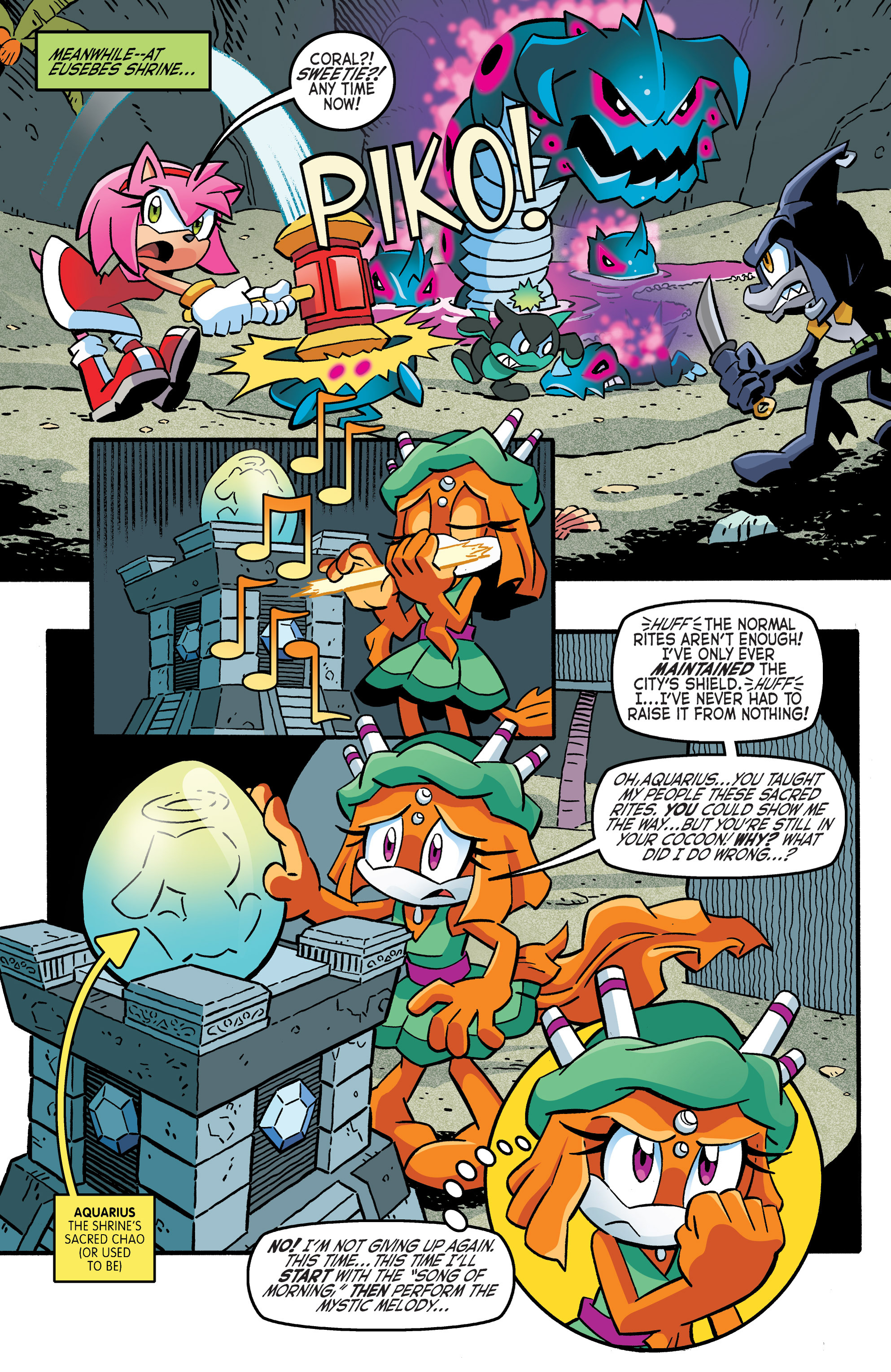 Read online Sonic The Hedgehog comic -  Issue #262 - 10