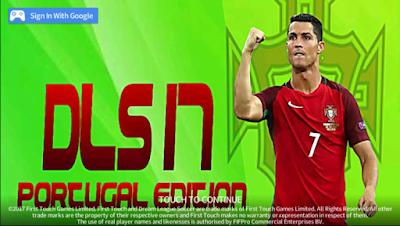 Download DLS 17 Mod Apk DATA v4.10 Portugal Edition