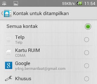Cara Terbaik Backup Nomor Kontak di Android Cara Terbaik Backup kontak hp Android