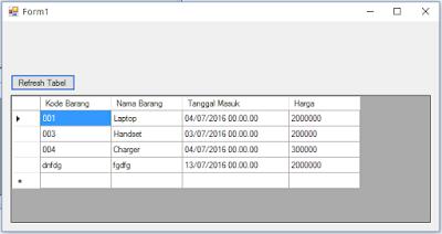 1 - Tutorial Vb.Net - Cara membuat Form Simpan(Input) Ke Database Mysql Memakai Connector Odbc