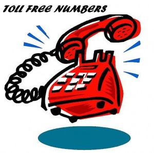 How to call Toll free numbers