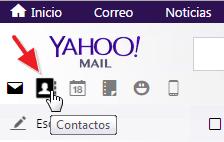 Contactos Yahoo Mail
