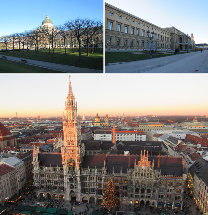 Marienplatz and Rinderplatz, Munich travel guide, Bavaria, Germany