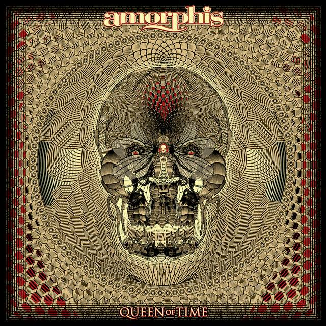 "Amorphis - ""Queen Of Time"" 2018 artwork"