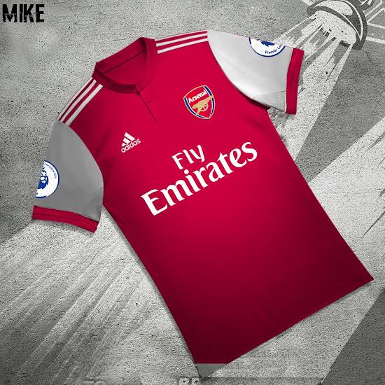 bdbf4671430 Adidas Arsenal Home Kit Concept
