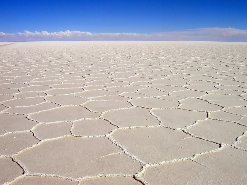 Salar De Uyuni, Bolivia. - Top 10 Unusual Natural Wonders