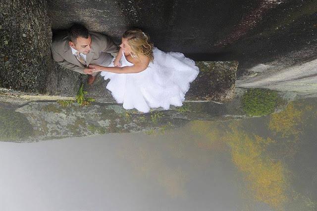 Ingin Kesan Tak Terlupakan? Lihat Foto Pernikahan Sadis Ini