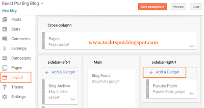 Add Flag Counter To Blogger 3