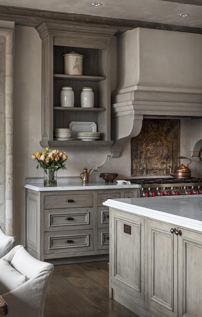 Friday Favorites - Cerused Kitchens - Petite Haus