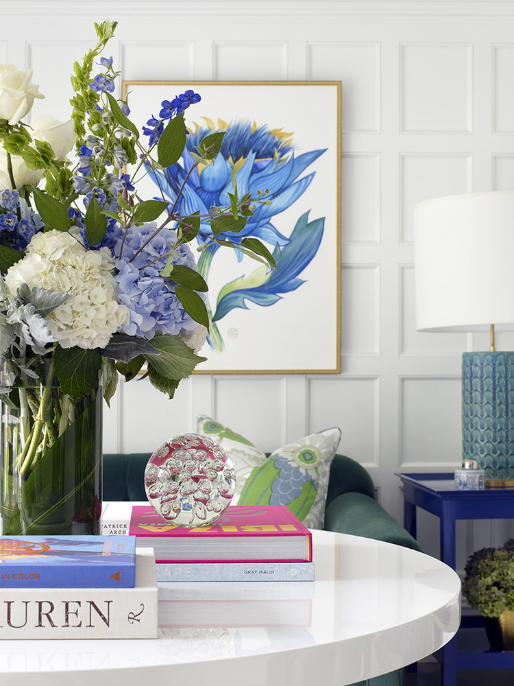 Bright and Beautiful: Colorful Home and Art