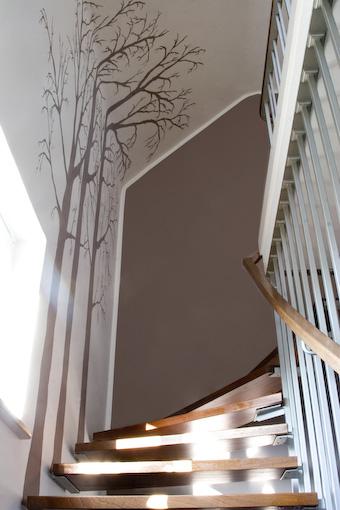 Farbgestaltung Innenräume Beispiele Ragopige Info. Einrichtungsideen  Beleuchtung Treppenhaus Wandgestaltung