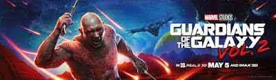 Guardians of the Galaxy Vol. 2 Banner Poster Dave Bautista