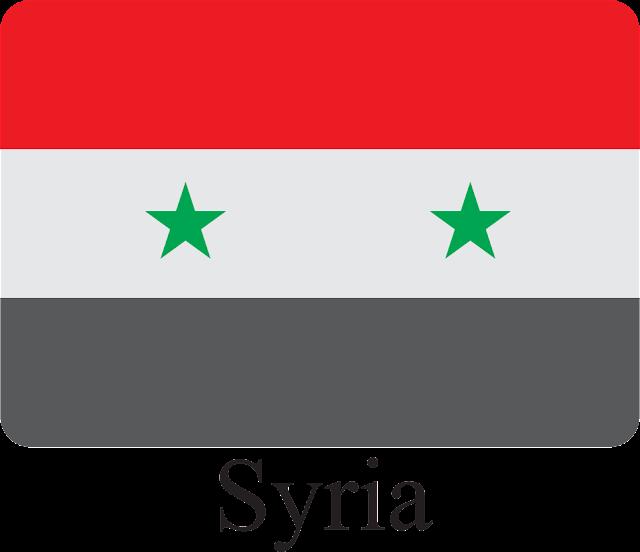 Suriye Bayrağı Vektörel