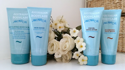 Australian Bodycare Exfoliating Body Scrub, Skin Wash, Facial Exfoliator and Cleansing Face Mask