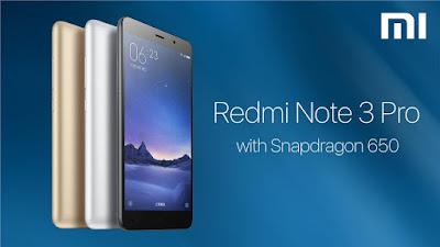 Cara Mengaktifkan Jaringan 4G Xiaomi Redmi Note 3 Pro