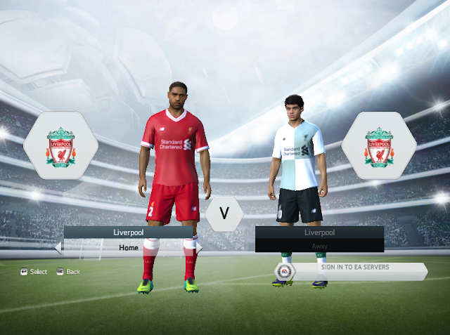 Liverpool FC 2017/18 Kit Pack For FIFA 14/15