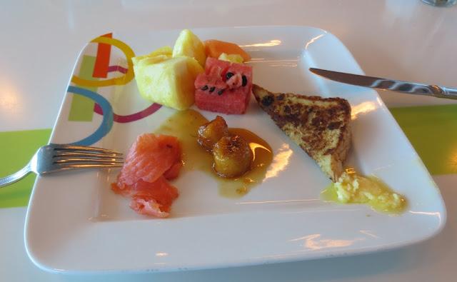 Celebrity Silhouette - Frühstück