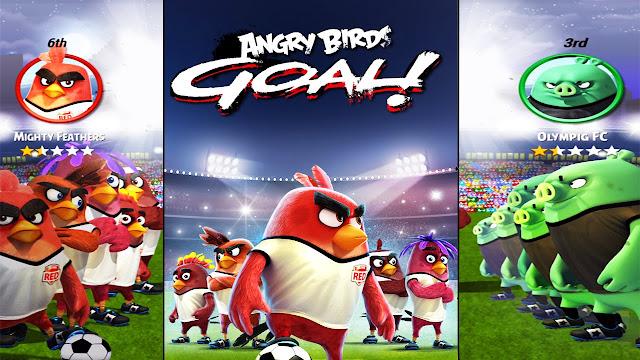تحميل لعبة ANGRY BIRDS GOAL! v0.4.11 مهكرة للاندرويد (اخر اصدار)