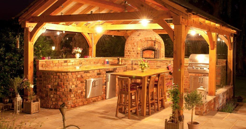 Outdoor Kitchen Lighting Ideas Home Interior Exterior Decor Design Ideas
