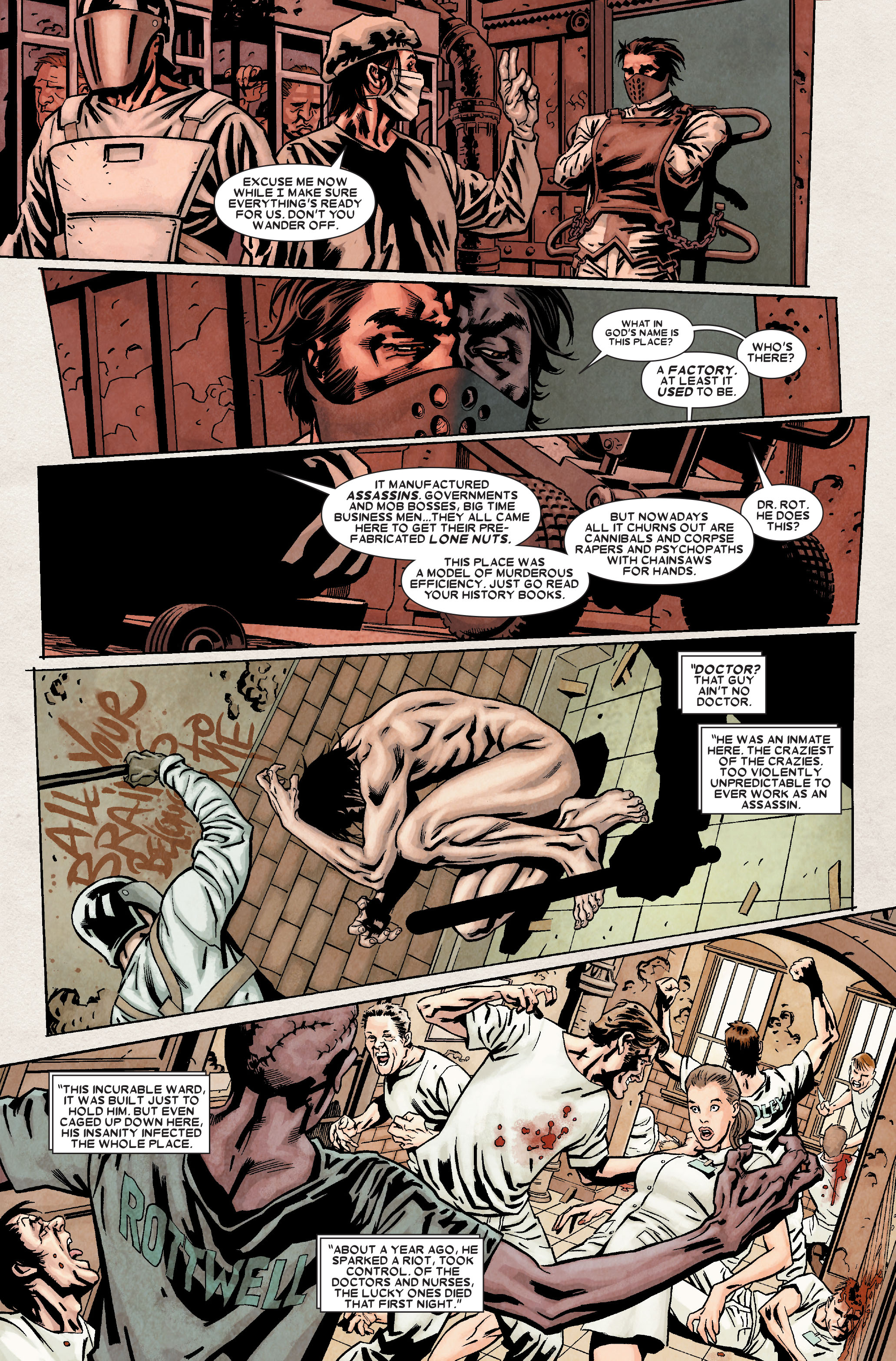 Read online Wolverine: Weapon X comic -  Issue #8 - 15