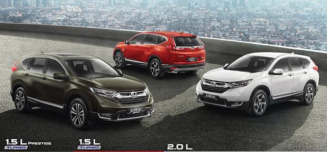 Mobil Honda CR-V 1.5L Prestige Turbo