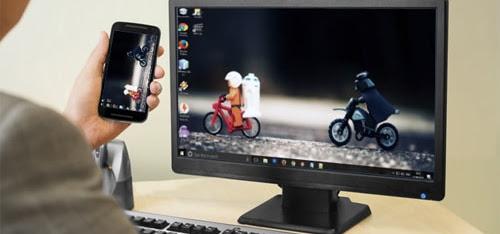 Cara Menjadikan Smartphone Android Sebagai Monitor PC