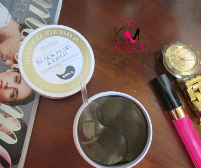 Review: Black Pearl & Gold Hydrogel eye patch by Petitfee