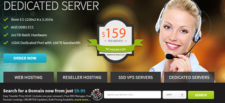 Dedicated server, Banahosting