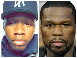 50 Cent's lookalike son